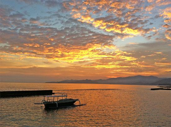 Just another Candi Dasa sunset