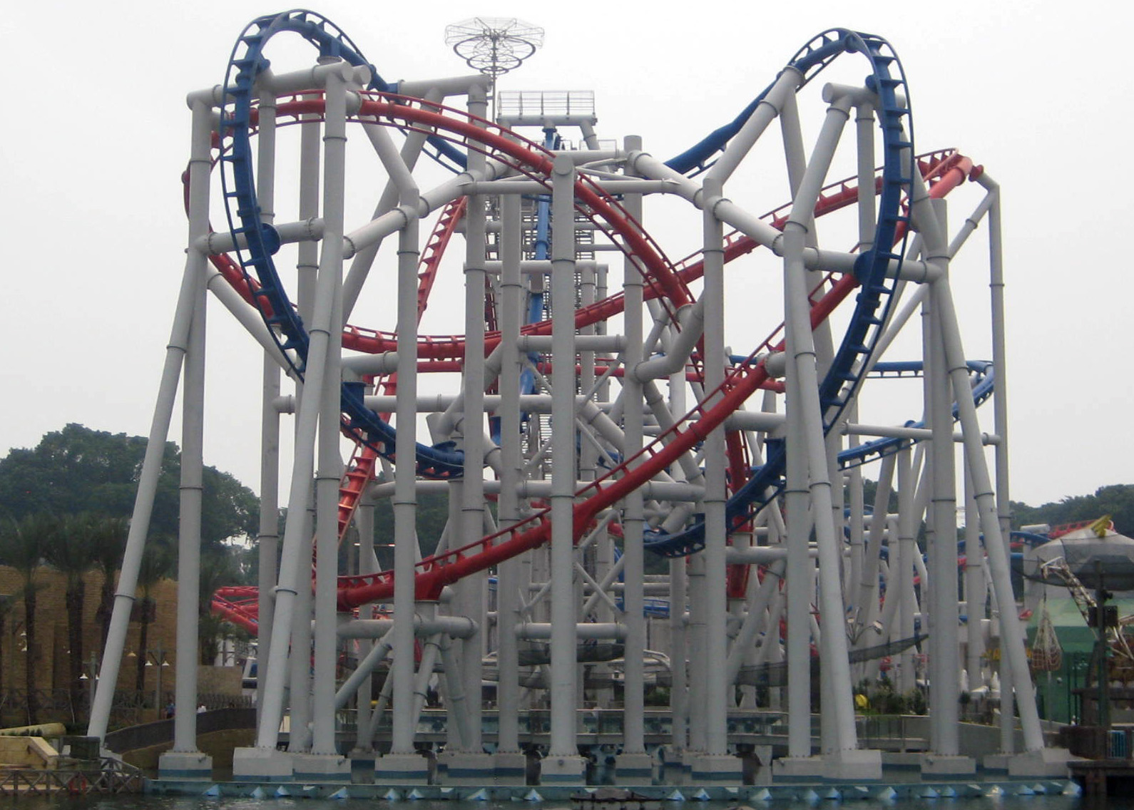 Image result for singapore roller coaster