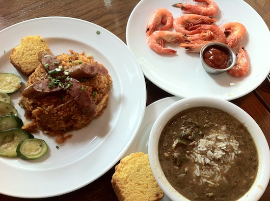 Authentic Cajun-Creole food -- Bangkok delivers once again.