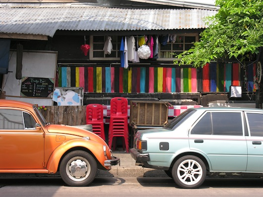 Laid back, old school, funky -- that's Thonburi.