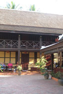 Lao Wooden House