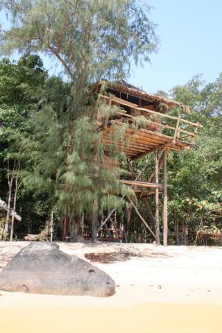 Photo of Treehouse Bungalows, oh Touch beach, Koh Rong, southeast side Booking office at Koh Rong Island Travel on Serendipity Beach. , Koh Rong