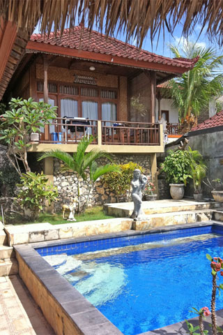 Photo of Oka Bungalo 7, Jungut Batu headland. , Nusa Lembongan