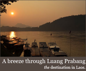 A breeze through Luang Prabang