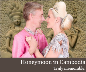 A honeymoon in Cambodia