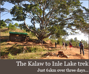 The Kalaw to Inle Lake trek