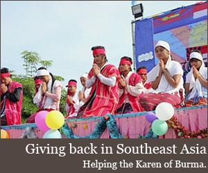 Helping the Karen of Burma