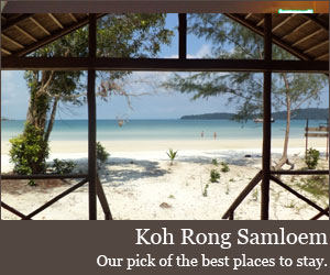 Where to stay on Koh Rong Samloem