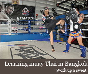 Learning Muay Thai in Bangkok