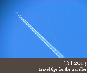 Travel tips for Tet in Vietnam 2013