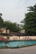 Swimming pool in Vientiane