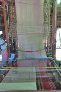 Baan Tha Sawang silk weaving village